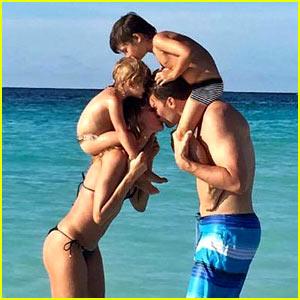 Gisele Bundchen Celebrates Tom Brady's Birthday with Intimate Beach Photo!