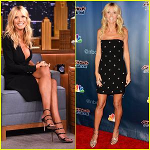 Heidi Klum Plays Box of Lies on 'The Tonight Show' - Watch Here!