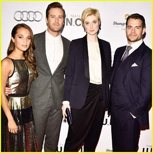 Henry Cavill & Armie Hammer Bring 'The Man From U.N.C.L.E.' To Toronto!
