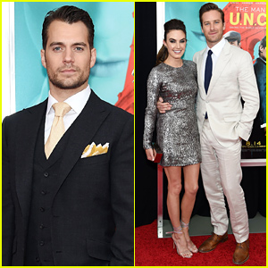 Henry Cavill & Armie Hammer Premiere 'Man From U.N.C.L.E.' in NYC!