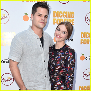 Holland Roden & Max Carver 'Dig For Fire' At Hollywood Premiere