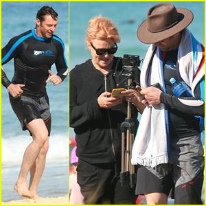 Hugh Jackman Hits Bondi Beach with Wife Deborra-Lee Furness!