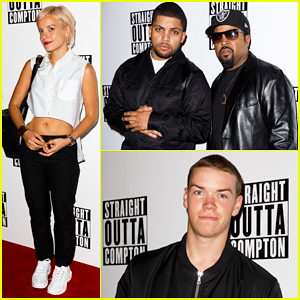 Ice Cube, Lily Allen & Will Poulter Are 'Straight Outta' London!