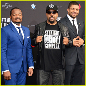 Ice Cube & Son O'Shea Jackson Jr. Are 'Straight Outta Compton' In Europe!