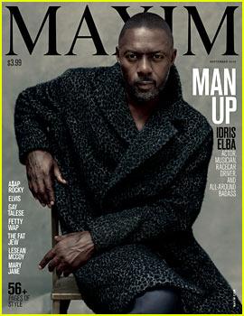 Idris Elba Is Maxim's First Solo Male Cover Star!