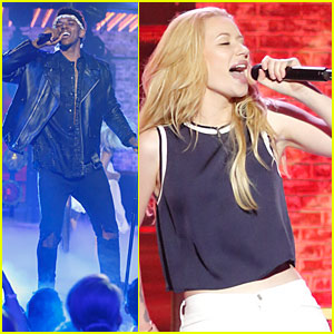 Iggy Azalea & Nick Young Compete on 'Lip Sync Battle' (Videos)