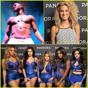 Jason Derulo & Fifth Harmony Hit Up Pandora's Summer Crush Concert Event
