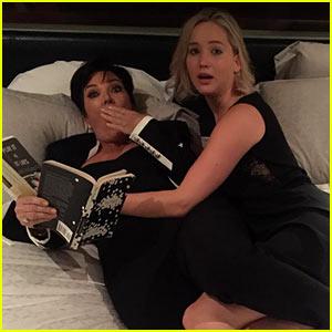 Jennifer Lawrence Celebrates Birthday in Kris Jenner's Bed!
