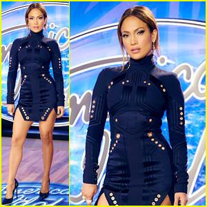 Jennifer Lopez Looks Smokin' at American Idol's Philadelphia Auditions!