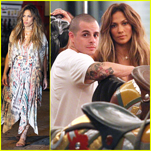 Jennifer Lopez Films 'El Mismo Sol' Music Video with Boyfriend Casper Smart!
