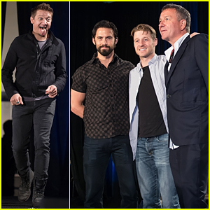 Jeremy Renner, Ben McKenzie & Milo Ventimiglia Hit Wizard World Comic Con Chicago 2015!