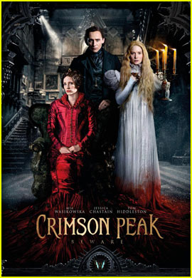 Jessica Chastain Shares New 'Crimson Peak' Poster!