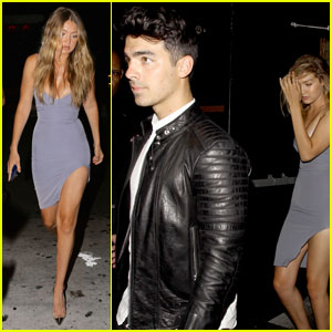 Gigi Hadid Has Fun Celebrating Kylie Jenner's 18th Birthday With Boyfriend Joe Jonas!