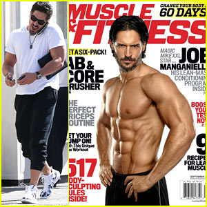 Joe Manganiello Flaunts His Abs for 'Muscle & Fitness' Cover