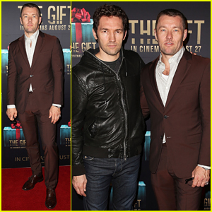 Joel Edgerton Teams Up with Brother Nash at 'The Gift' Sydney Premiere!