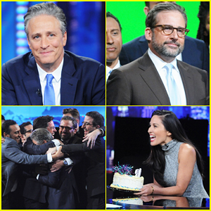 Jon Stewart & The Correspondents Say Goodbye to 'The Daily Show' - Watch Here!