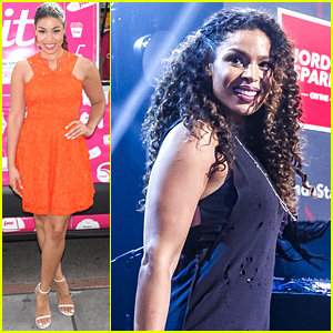 Jordin Sparks Signs Copies Of Her New Album 'Right Here, Right Now' In NYC