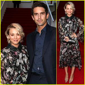 Kaley Cuoco Rings In the Beverly Hilton Hotel's Anniversary with Ryan Sweeting
