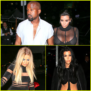 Kardashian Sisters Wear Sexy Sheer Outfits for Kylie Jenner's 18th Birthday Party!