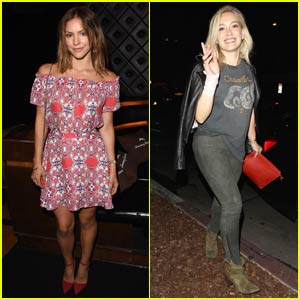 Katharine McPhee & Hilary Duff Praise Taylor Swift for a Great Show in Los Angeles!
