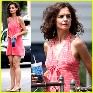 Katie Holmes Continues Filming Her Directorial Debut 'All We Had'!