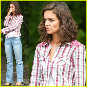 Katie Holmes' Car Breaks Down During Filming For 'All We Had'