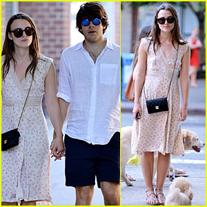 Keira Knightley Shows Off Post-Baby Bod On Stroll With Hubby James Righton