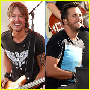 Keith Urban & Luke Bryan Make NYC a Little More Country!