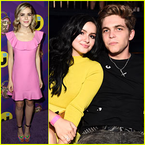 Kiernan Shipka & Ariel Winter Look Wonderful for Just Jared's Wonderland Party Presented by Ever After High!