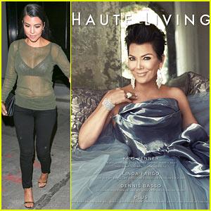 Kris Jenner Reveals Why Kourtney Kardashian Is Her Hero