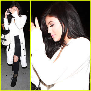 Kylie Jenner Has Night Out At The Nice Guy