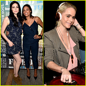 OITNB's Laura Prepon & Taryn Manning Party Under the Stars in the Hamptons!