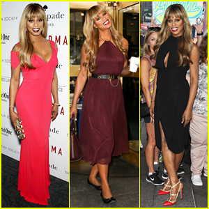 Laverne Cox Rocks Amazing Looks for 'Grandma' Promo!