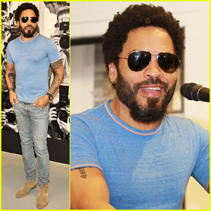 Lenny Kravitz Makes First Appearance After PenisGate Scandal!
