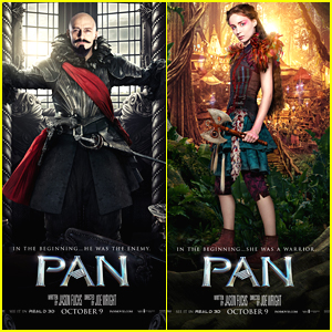 Hugh Jackman & Rooney Mara Show Us The Way To Neverland In New 'Pan' Posters