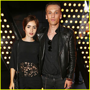 Lily Collins & Jamie Campbell Bower Couple Up for W London Launch!