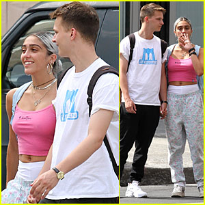 Lourdes Leon & Her Boyfriend Spend Summer Break in New York