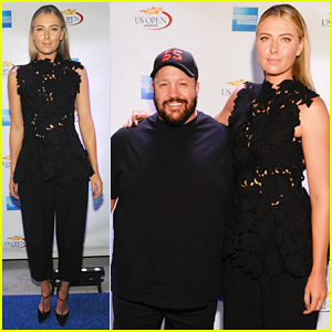 Maria Sharapova & Kevin James Rally On The River for U.S. Open 2015!