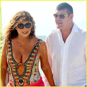 Mariah Carey Is NOT Pregnant with James Packer's Baby