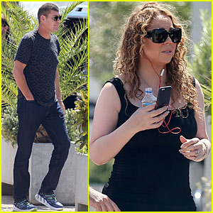 Mariah Carey & Boyfriend James Packer Make It 'Through The Rain' in Ibiza