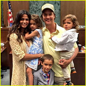 Matthew McConaughey's Wife Camila Alves Becomes an American Citizen!