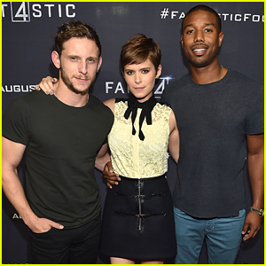 Kate Mara, Michael B. Jordan & Jamie Bell See First 'Fantastic Four' Screening in Atlanta