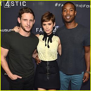 Kate Mara, Michael B. Jordan & Jamie Bell See First 'Fantastic Four' Screening in Atlanta