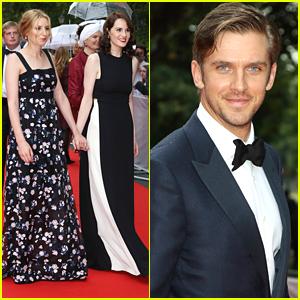 Michelle Dockery & Dan Stevens Reunite At 'Downton Abbey' Tribute Event