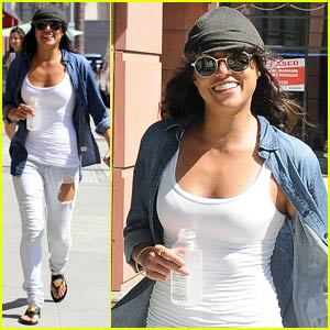 Michelle Rodriguez Goes Undercover in Beverly Hills