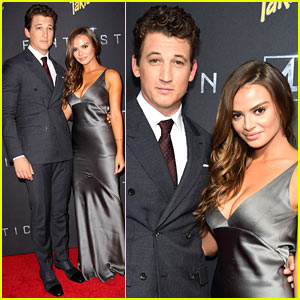 Miles Teller Brings Girlfriend Keleigh Sperry to 'F4' Premiere!