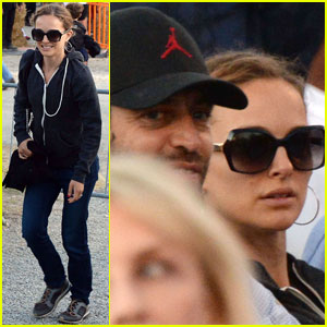 Natalie Portman & Benjamin Millepied Attend the Opera in Italy