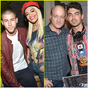Rita Ora Hangs With Nick & Joe Jonas At 'The After Party' Before 'Body On Me' Debut