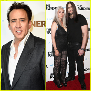 Nicolas Cage Is Joined By Son Weston at 'The Runner' Premiere!