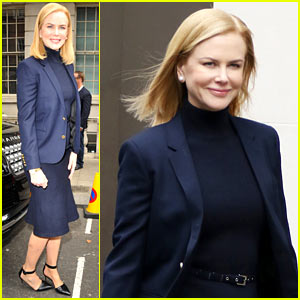 Nicole Kidman Starts Filming on New Project in London